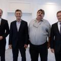Mercedes-Benz Argentina - Volker Mornhinweg - Mauricio Macri - Ricardo Pignanelli - Roland Zey