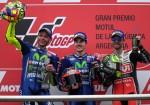 MotoGP - Termas de Rio Hondo 2017 - Valentino Rossi - Maverick Vinales - Cal Crutchlow en el Podio