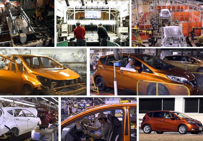Nissan - Proceso de produccion del nuevo NOTE e-POWER en Japon