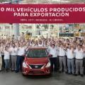 Nissan alcanzo hito de 10 mil vehiculos producidos para exportacion en la planta de Resende