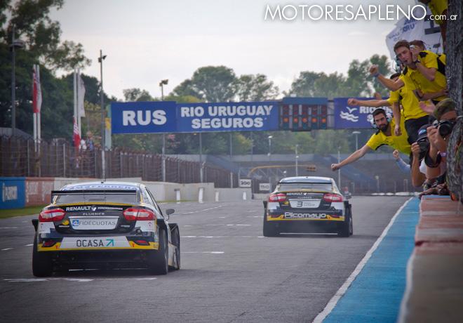 TC2000 - Buenos Aires 2017 - Carrera Final - Manuel Luque - Mariano Pernia - 1-2 de Renault
