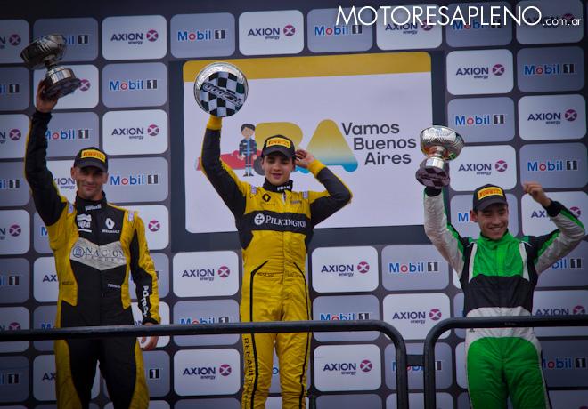 TC2000 - Buenos Aires 2017 - Carrera Final - Mariano Pernia - Manuel Luque - Diego Ciantini en el Podio