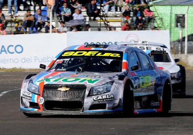 Top Race - Resistencia - Chaco 2017 - Carrera 1 - Mariano Altuna - Chevrolet Cruze