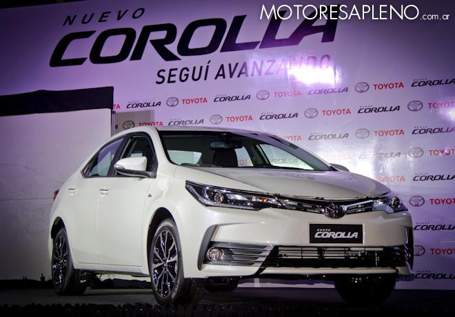 Nuevo Toyota Corolla: Diseño mejorado; más tecnología, seguridad y confort.