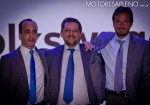 VW - Pedro Martinez Diaz - Hernan Vazquez - Cristian Sarubbi en la presentacion Nuevo Passat