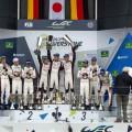 WEC - 6 hs de Silverstone 2017 - El Podio