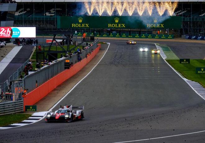 WEC - 6 hs de Silverstone 2017 - Kazuki Nakajima - Sebastien Buemi - Anthony Davidson - Toyota TS050