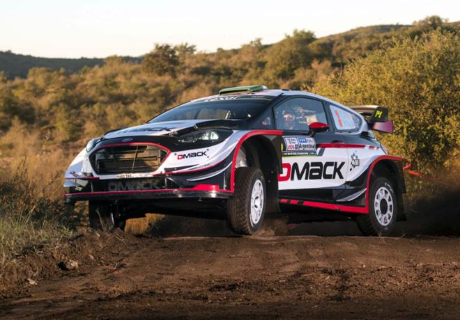 WRC - Argentina 2017 - Dia 1 - Elfyn Evans - Ford Fiesta WRC