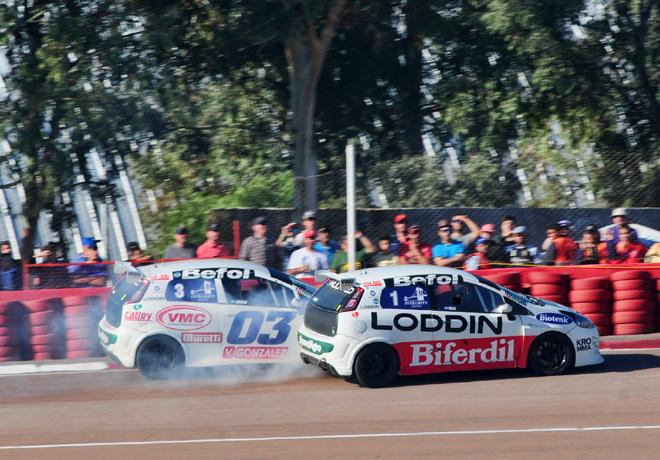 Abarth Competizione - San Martin - Mendoza 2017 - Carrera 2 - Federico Braga y Daniel Belli