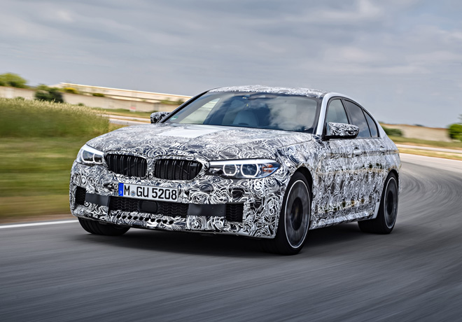 BMW M5 con traccion M xDrive 1