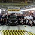 Chevrolet Cruze unidad numero 40 mil