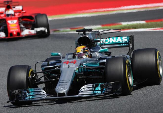 F1 - Espana 2017 - Carrera - Lewis Hamilton - Mercedes GP