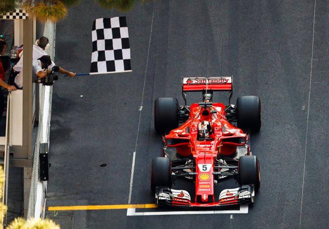 F1 - Monaco 2017 - Carrera - Sebastian Vettel - Ferrari