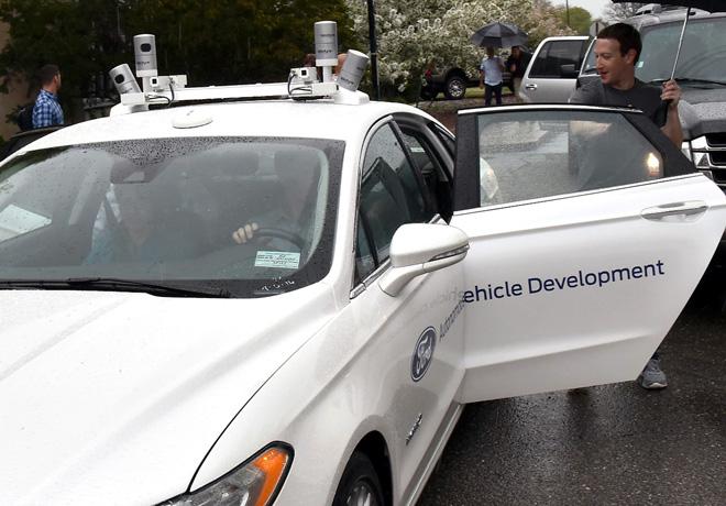 Ford Motor Company recibio la visita de Mark Zuckerberg 1