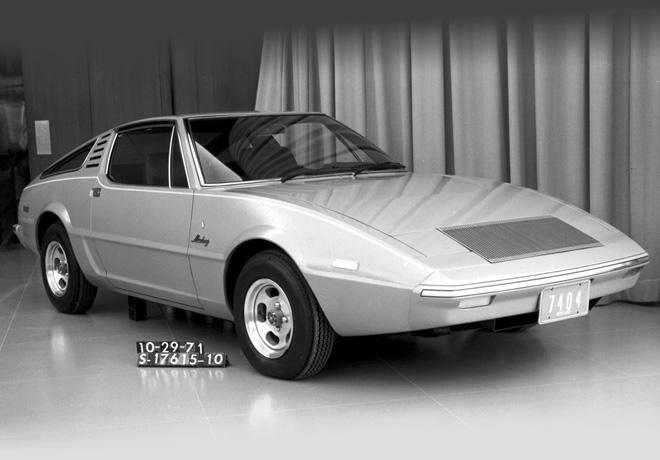 Ford Mustang Estudio Ghia 1971