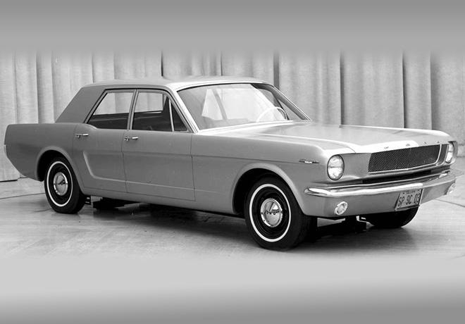 Ford Mustang Prototipo 4 Puertas 1965