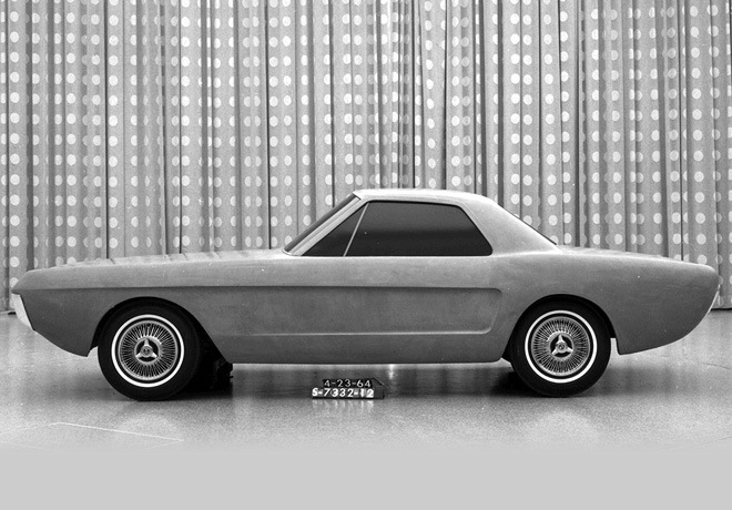 Ford Mustang Prototipo Cupe 2 lugares 1964