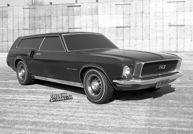 Ford Mustang Prototipo Familiar 1966