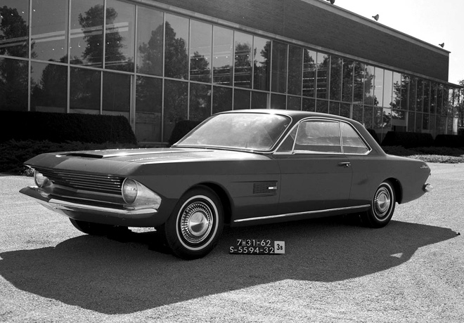 Ford Mustang Prototipo Gene Bordinat 1962