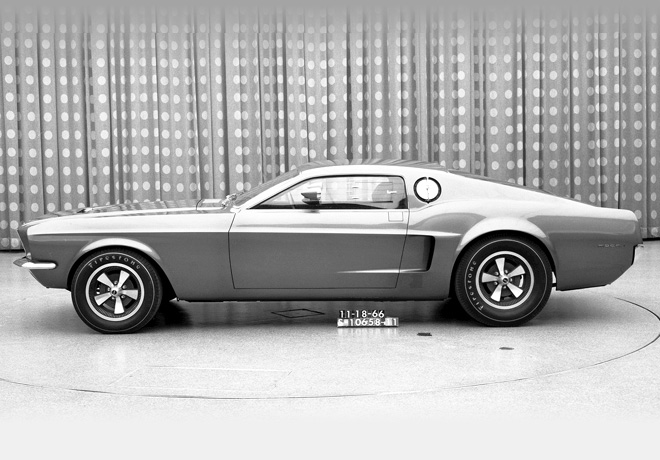 Ford Mustang Prototipo Mach I Concept 1966