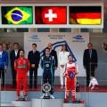 Formula E - Montecarlo - Monaco 2017 - Lucas Di Grassi - Sebastien Buemi - Nick Heidfeld en el Podio
