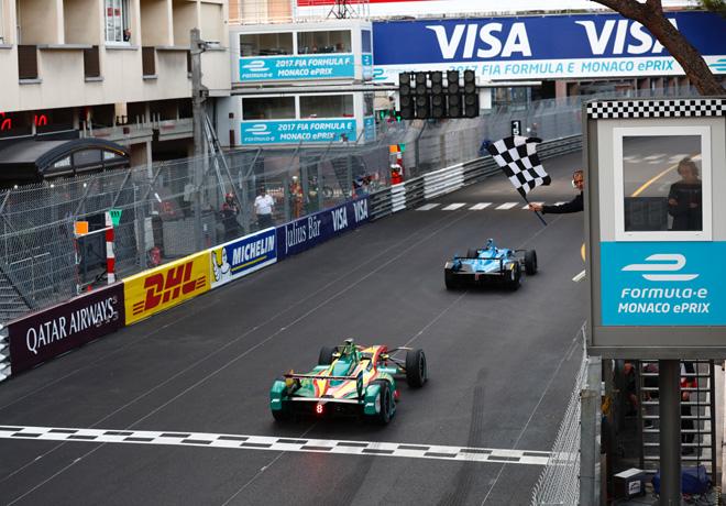 Formula E - Montecarlo - Monaco 2017 - Sebastien Buemi y Lucas Di Grassi