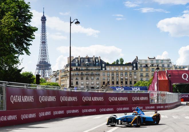 Formula E - Paris - Francia 2017 - Sebastien Buemi - Renault eDams