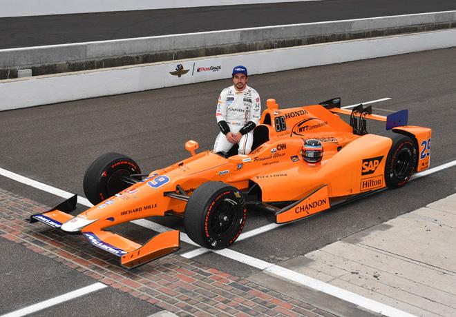 IndyCar - Indianapolis 500 2017 - Clasificacion - Fernando Alonso