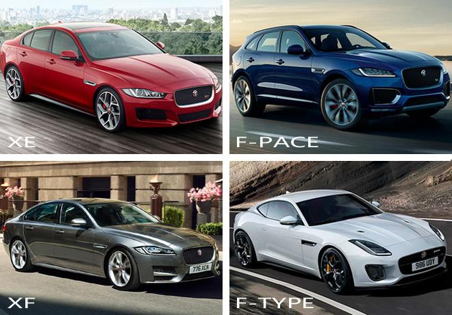 Jaguar - lineup 2017