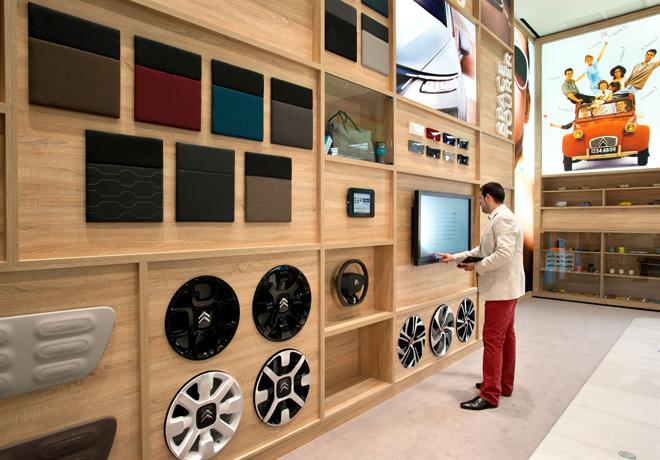 La Maison Citroen - Un nuevo concepto de punto de venta urbano 1