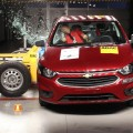 Latin NCAP - Chevrolet Onix - con 2 Airbags - impacto lateral