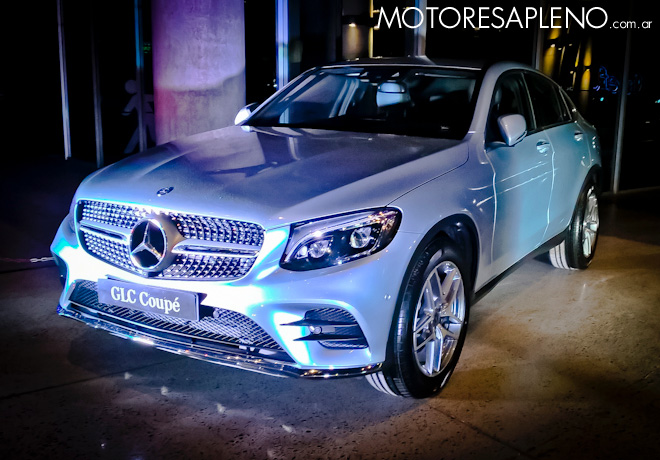 Mercedes-Benz GLC Coupe 2017 1