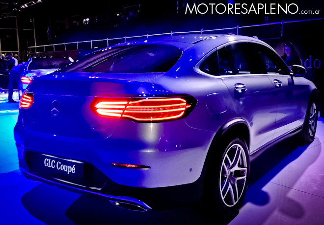 Mercedes-Benz GLC Coupe 2017 2