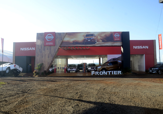 Nissan NP300 Frontier en el Agrishow 2017 de Brasil 1