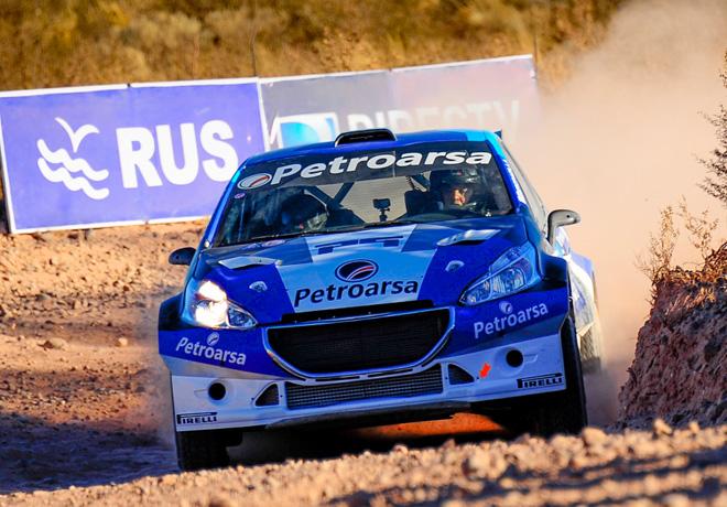 Rally Argentino - Plaza Huincul y Cutral Co 2017 - Etapa 1 - Geronimo Padilla - Peugeot 208 MR