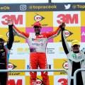 Top Race - Buenos Aires 2017 - Carrera - Mariano Altuna - Gabriel Ponce de Leon - Humberto Krujoski en el Podio