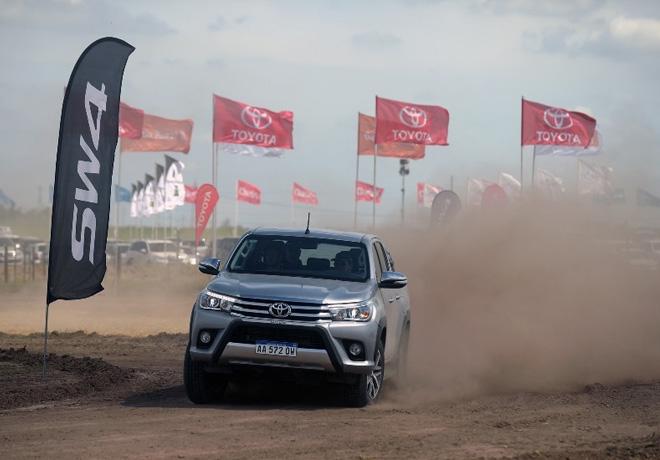 Toyota Hilux en Agroactiva 2017