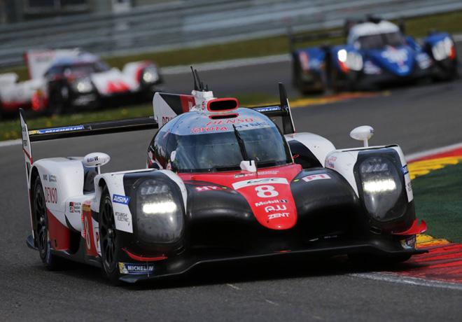 WEC - 6 hs de Spa-Francorchamps 2017 - Sebastien Buemi - Anthony Davidson - Kazuki Nakajima - Toyota TS050 Hybrid