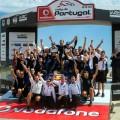 WRC - Portugal 2017 - Fina - Sebastien Ogier y el equipo M-Sport en el Podio