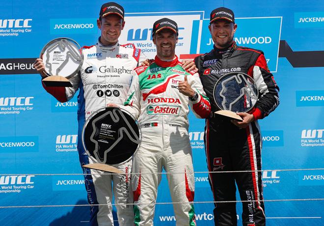 WTCC - Hungaroring - Hungria 2017 - Carrera 1 - El Podio