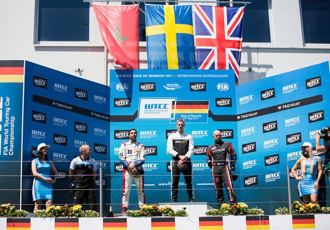 WTCC - Nurburgring - Alemania 2017 - Carrera 1 - El Podio