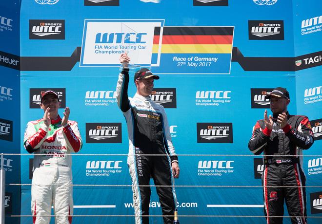 WTCC - Nurburgring - Alemania 2017 - Carrera 2 - El Podio