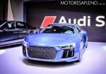 Audi R8 V10 Plus en el Salon del Automovil de Buenos Aires 2017