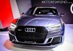 Audi RS3 Sedan en el Salon del Automovil de Buenos Aires 2017