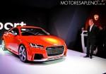 Audi TT RS en el Salon del Automovil de Buenos Aires 2017