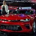 Chevrolet Camaro SS Coupe en el Salon del Automovil de Buenos Aires 2017 1