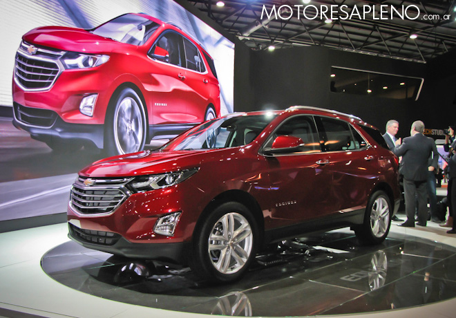 Chevrolet Equinox en el Salon del Automovil de Buenos Aires 2017 1
