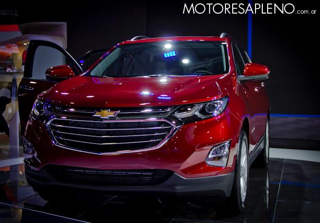 Chevrolet Equinox en el Salon del Automovil de Buenos Aires 2017 2