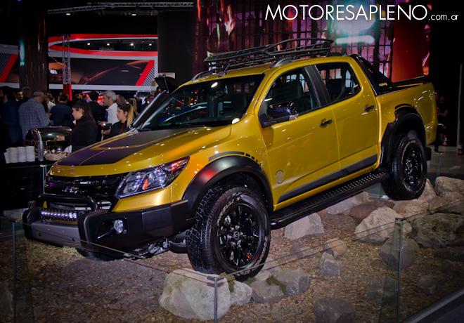 Chevrolet S10 Trailboss en el Salon del Automovil de Buenos Aires 2017