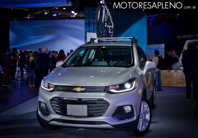 Chevrolet Tracker en el Salon del Automovil de Buenos Aires 2017